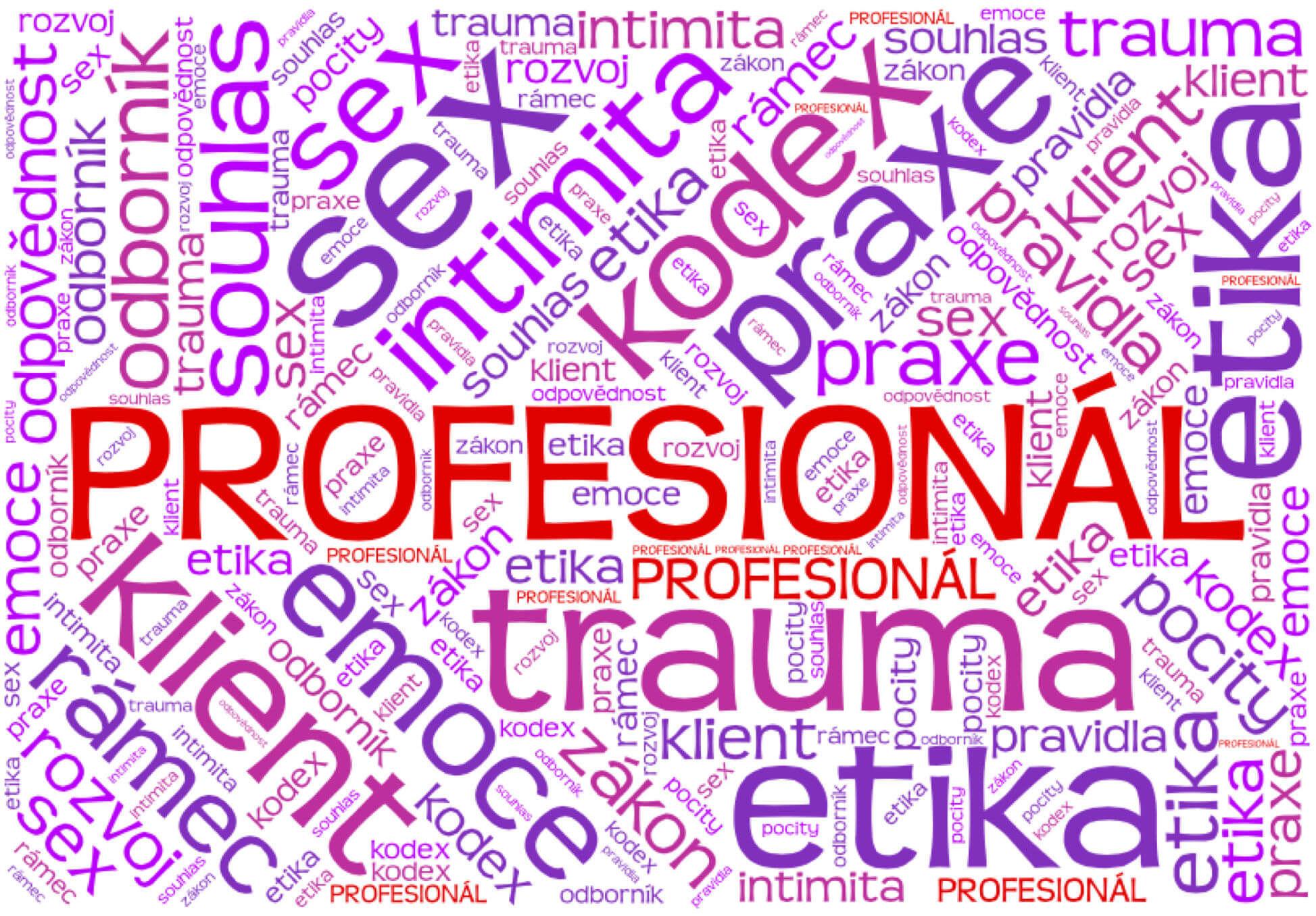 intimní splynutí, kurz pro odborníky, kurz pro profesionály, profesní etika, etika při práci slidmi