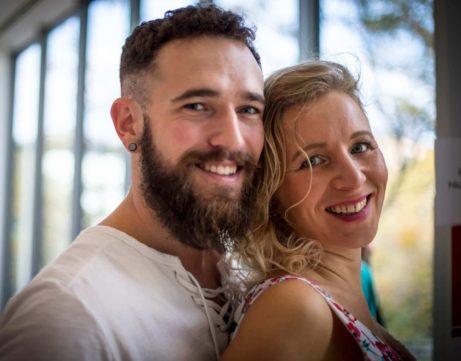 Martin Plas a Lucie Sitařová- lektoři partnerského tantrického kurzu na Tantrafestivalu