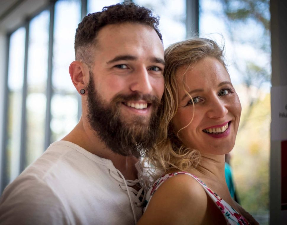 Martin Plas aLucie Sitařová- lektoři partnerského tantrického kurzu naTantrafestivalu